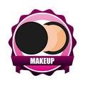 Makeover female design vector illustration eps graphic Stock Images