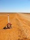 Outback Road Sign Royalty Free Stock Photo