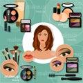 Makeup Artis Beautiful Woman F...