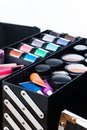 Makeup artist case Royalty Free Stock Photo