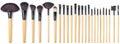 Makeup Brush Set, 24 pieces Royalty Free Stock Photo