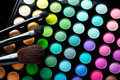 Makeup brushes Royalty Free Stock Photo