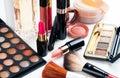 Makeup and cosmetics set Royalty Free Stock Photo