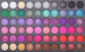 Makeup eye shadows Royalty Free Stock Photo