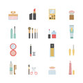Makeup icons Royalty Free Stock Photo
