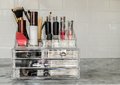 Makeup organizer Royalty Free Stock Photo
