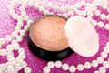 Makeup powder Royalty Free Stock Photo