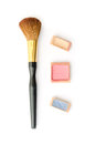 Makeup set isolated on white Royalty Free Stock Photo