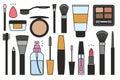 Makeup tools Icons