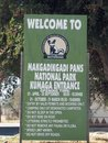 Makgadikgadi Pans National Park Royalty Free Stock Photography