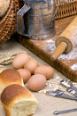 Making Bread Series 002 Royalty Free Stock Photo