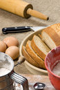Making Bread Series 023 Royalty Free Stock Image