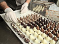 Making chocolate Stock Photo