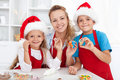 Making Christmas Cookies With ...