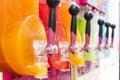 Making icy granita juice device Royalty Free Stock Photo