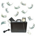Making money Royalty Free Stock Image
