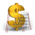 Making money concept Royalty Free Stock Photo