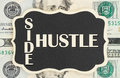 Making money with your side hustle Royalty Free Stock Photo