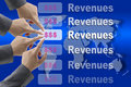 Making Revenues Royalty Free Stock Photo