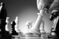 Making a strategic move Royalty Free Stock Photo