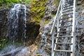 Mala Fatra waterfall