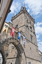 Mala Strana Bridge Tower Royalty Free Stock Photo