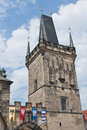 Mala Strana Bridge Tower Stock Photography