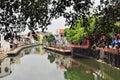 Malacca City Riverside Promenade, Malaysia Royalty Free Stock Photo