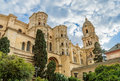 Malaga Cathedral in Andalusia, Spain Royalty Free Stock Photo
