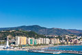 Malaga city spain beautiful view of Stock Photo