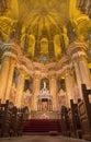Malaga renaissance presbytery of cathedral the Stock Photo