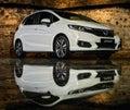 Honda Jazz car Royalty Free Stock Photo