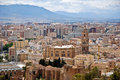 Malaga - View of the city Royalty Free Stock Images