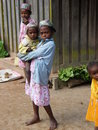 Malagasy children Stock Photo