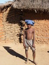Malagasy native boy Royalty Free Stock Image