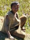 Malagasy native boy Stock Photo