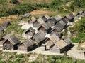 Malagasy Village Royalty Free Stock Image
