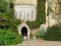 Malahide Castle entrance  in Dublin, Ireland. Royalty Free Stock Photo