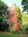 Malahide Castle side entrance  in Dublin, Ireland. Royalty Free Stock Photo