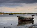 Malahide harbor. Ireland Royalty Free Stock Photos