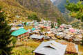 Malana village, Himachal, India Royalty Free Stock Photo