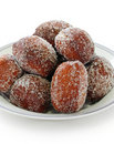 Malasada, hawaiian donuts Stock Images