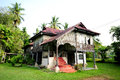 Malay houses Stock Images