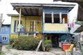 Malay kampung house at kuching sarawak Royalty Free Stock Photos
