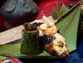 Malay Sticky Rice Roll Royalty Free Stock Image
