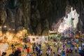 Malaysia - 12 Febuary 2017 :: Batu caves popular place to visit