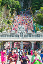 Malaysia - 12 Febuary 2017 :: Batu caves popular place to visit