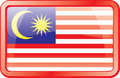 Malaysia Flag Icon Royalty Free Stock Image