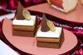 Malaysia  Kuala Lumpur: Culinary; truffle cake Royalty Free Stock Photo
