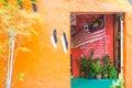 Malaysia national flag decorate home